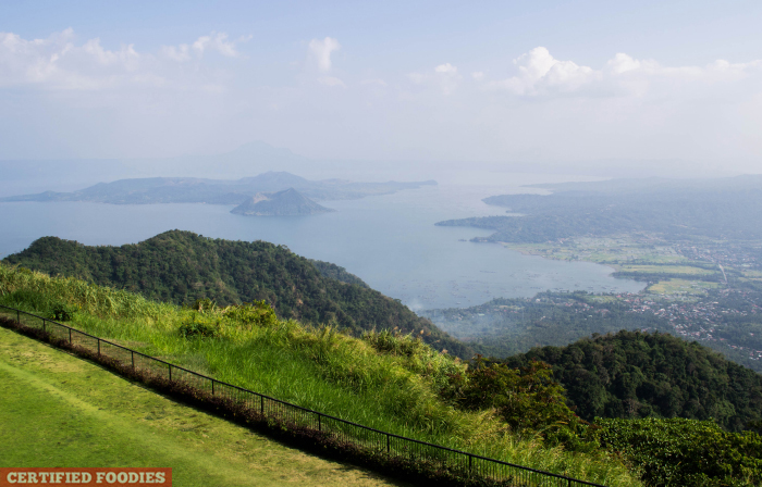Taal Lake View at Taal Vista Hotel Tagaytay Philippines