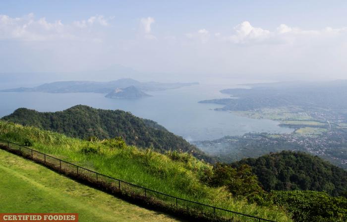 Taal Lake View at Taal Vista Hotel Tagaytay Philippines