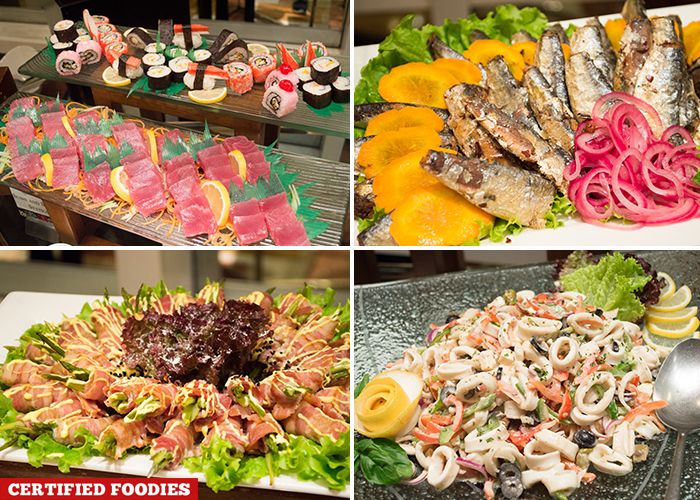 Assorted Appetizers at Feast on Friday Dinner Buffet at Richmonde Hotel Ortigas