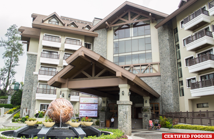 Azalea Baguio Hotel Facade