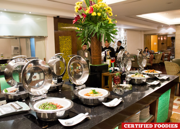 Buffet Spread at Feast on Friday Dinner Buffet Richmonde Hotel Ortigas