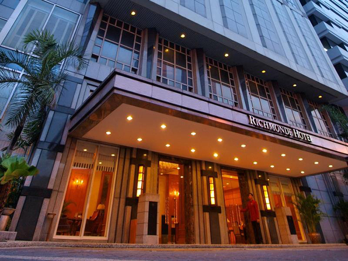 Facade of Richmonde Hotel Ortigas Pasig City