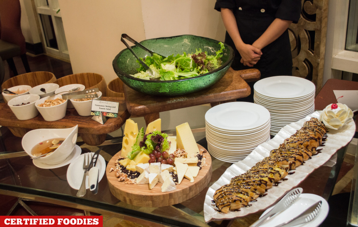 Salad Station at Feast on Friday Dinner Buffet Richmonde Hotel Ortigas