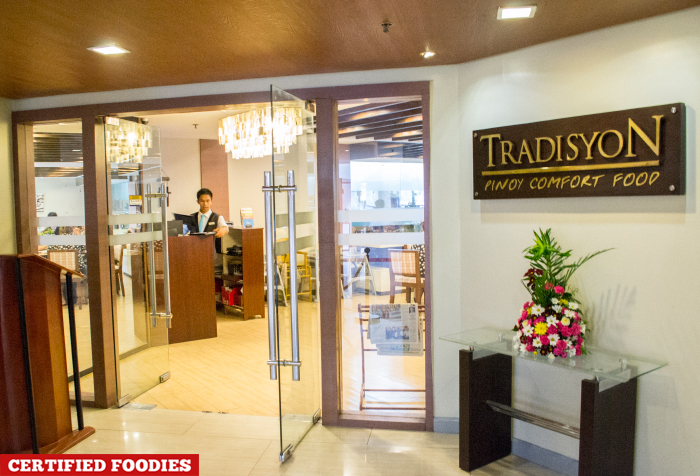 Tradisyon Pinoy Comfort Food Restaurant in Azalea Baguio