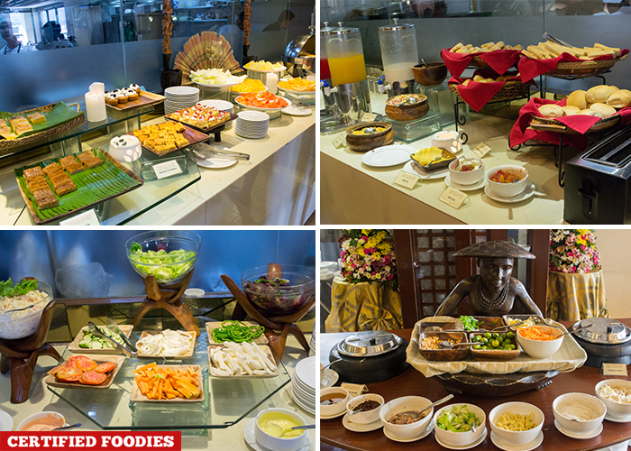 Breakfast Buffet Spread At Tradisyon Restaurant In Azalea Residences Hotel Baguio City
