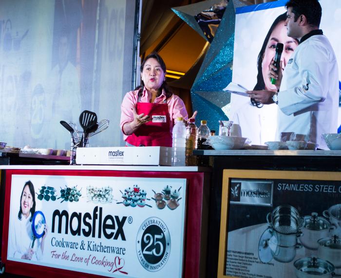 Chef Nancy Reyes-Lumen Brand Ambassador for Masflex Cookware and Kitchenware