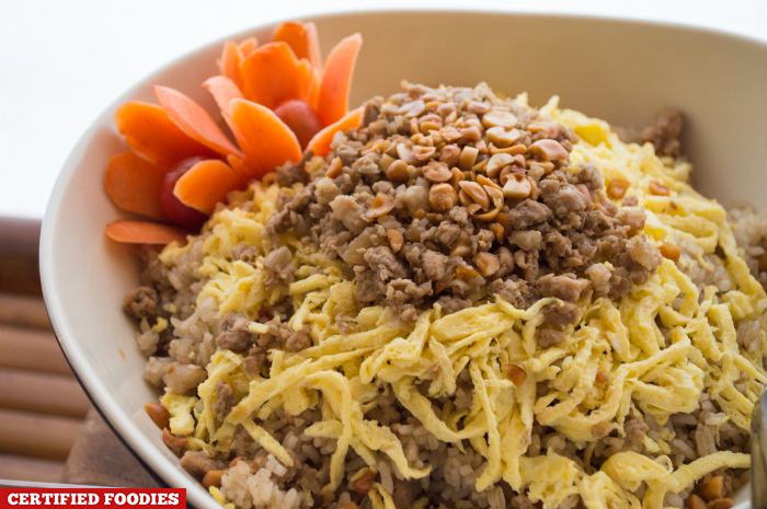 Bagoong Rice for the Batangas Food Festival at Matabungkay Beach Hotel in Lian Batangas