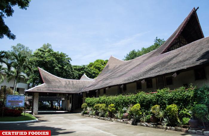 Facade of Matabungkay Beach Hotel in Lian Batangas