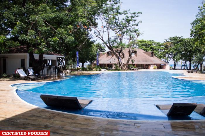 New Swimming Pool Of Matabungkay Beach Hotel In Lian Batangas